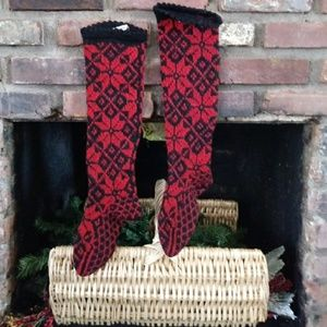 Vintage 30's-40's Wool Stockings Made in Austria